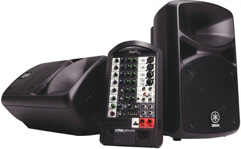 Yamaha StagePas PA