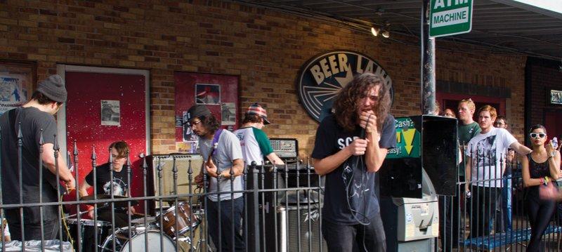 Eden band on street nzm154