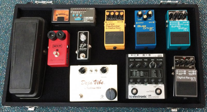 Guitar Cool - Pedal Board nzm155