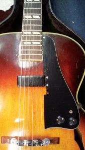 Nick's archtop Gibson