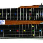 Bill Sevesi and his lap steel guitar.