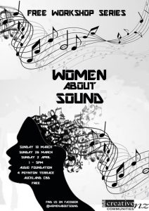 women about sound poster