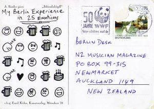 152 postcards richie postcard front