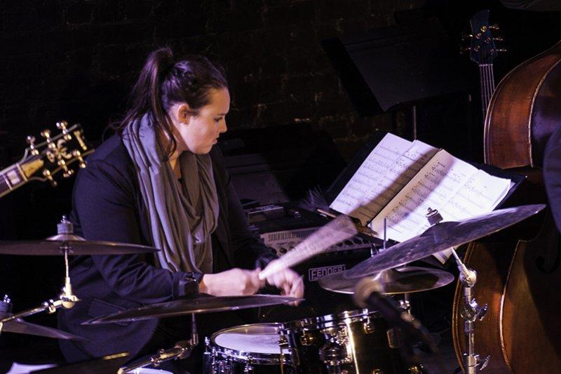 Lauren Ellis: Drumming Big Band To Monterey.
