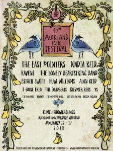 auckland folk festival full poster