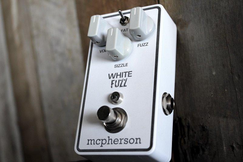 mcpherson white fuzz