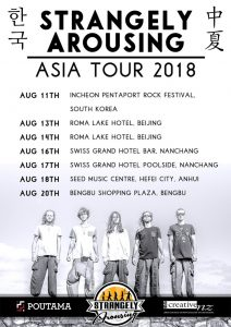 strangely arousing Asia Tour Poster copy