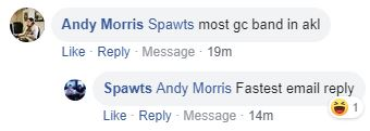 andy vs spawts