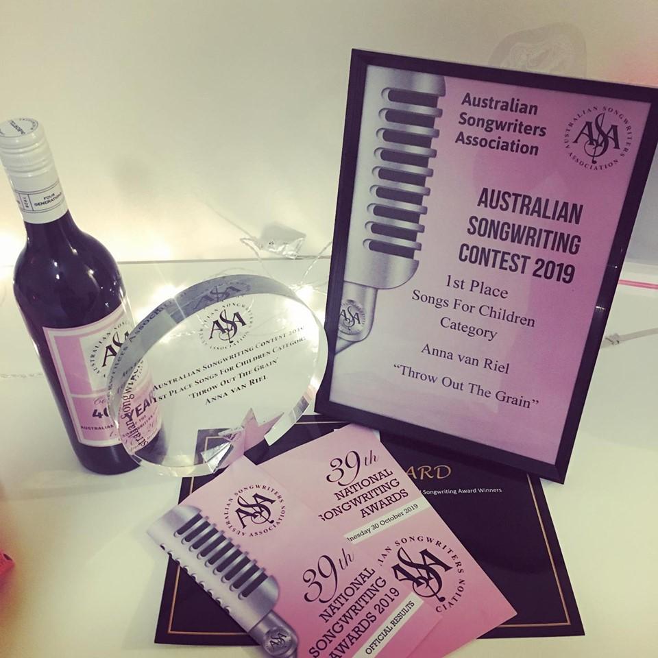 Anna Van Riel Wins ASA Award