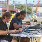 The Phoenix Foundation, Ha The Unclear, Skilaa & DJ Kahu Muru, February 2, 2020, Silo Park, Auckland
