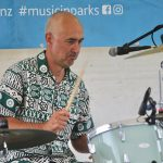 music in parks w beachware, sandy mill, investigator