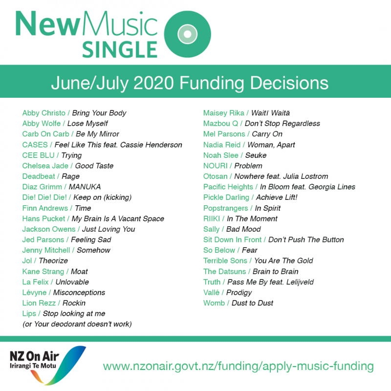 nzoa june/july 2020 july 2020 funding
